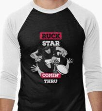 Rugby Ruck Star Men's Baseball ¾ T-Shirt