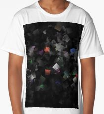 raw abstract Long T-Shirt