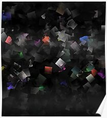 raw abstract Poster