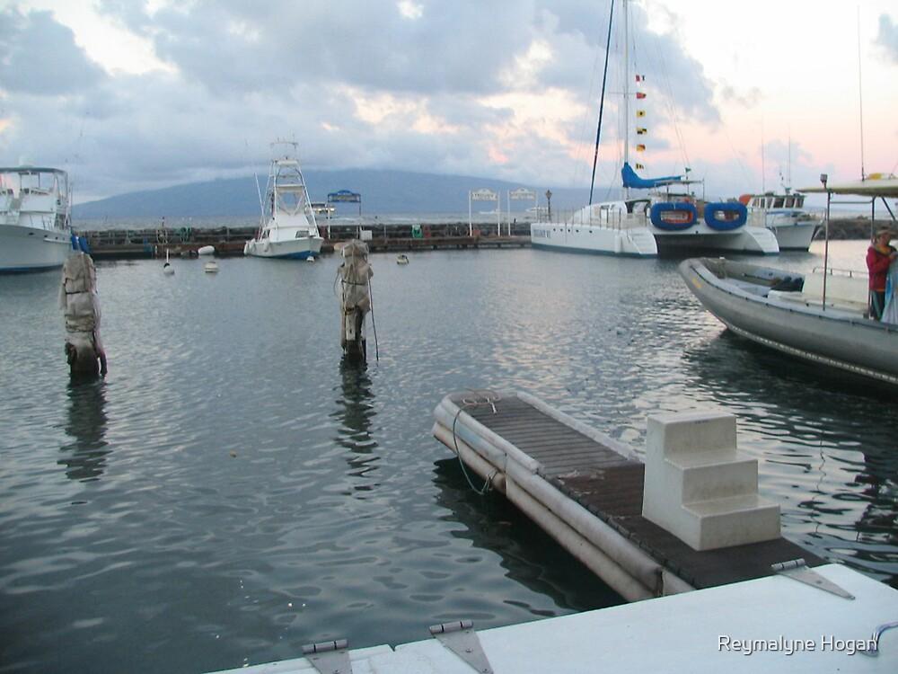 harbor view by Reymalyne Hogan
