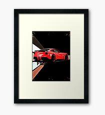 ferrari Framed Print