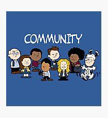 Community Snoopy Style Photographic Print