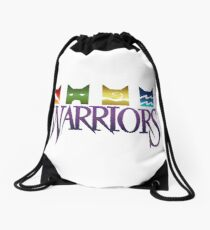 Warrior Cats Logo Drawstring Bag