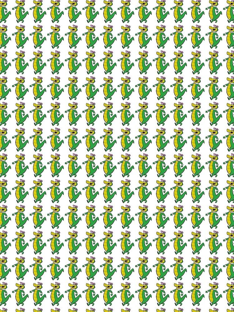 Wally Gator by RainbowRetro