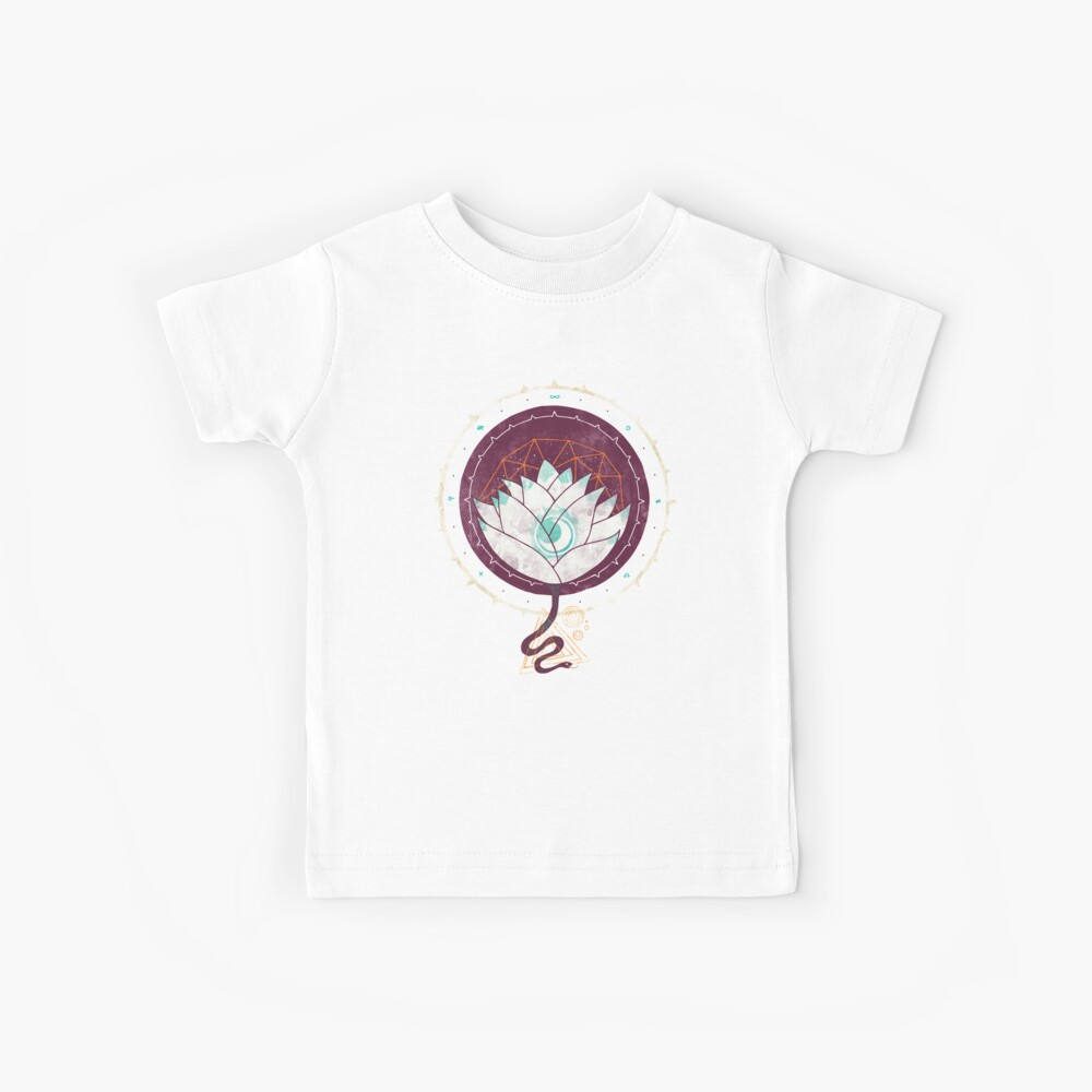 Der Lotus Kinder T-Shirt