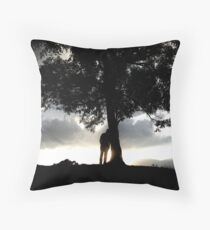 The Day that never existed... Throw Pillow