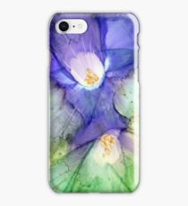 Grunge Flowers I iPhone Case/Skin