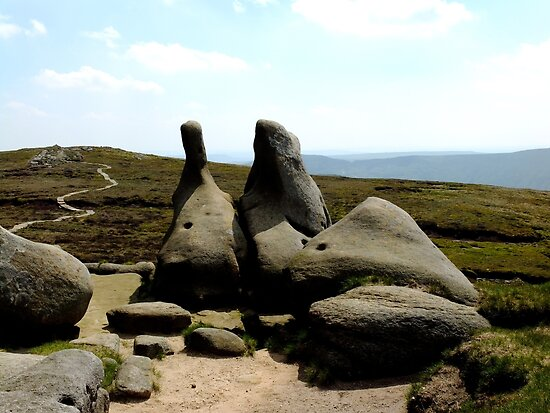 On The Way To Kinder Scout by chriscroxall