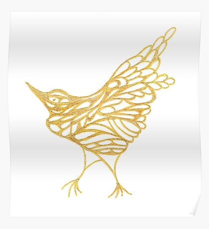 Golden Canary Poster