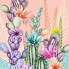 Cacti Flowers by AmandaDilworth