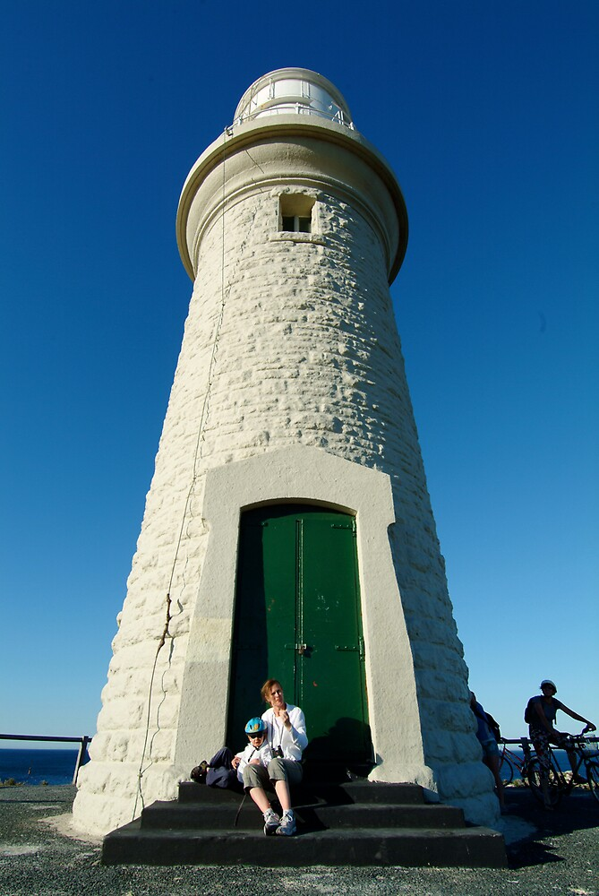Family fun on Rottnest Island by nick page