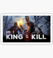 King of the Zombies Sticker
