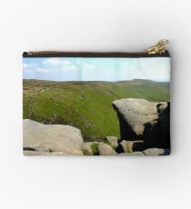 The View Across To Grindslow Knoll Studio Pouch