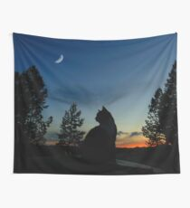 Warrior Cats - Silhouette Wall Tapestry