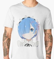 Re: Zero - Rem [no background] Men's Premium T-Shirt