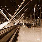 In Transit - In Sepia by Gino Iori