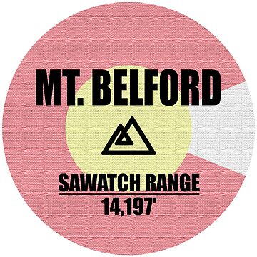 Mt. Belford by esskay