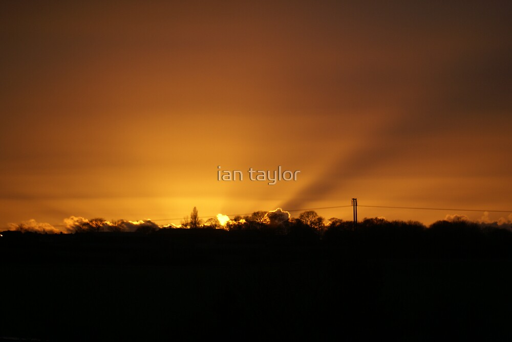 SUNSET AT NOSTAL 2 by ian taylor