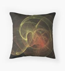 Abstract Art Magic Flame Throw Pillow