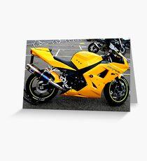 superbike Greeting Card