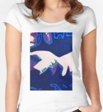 The way to the cross - The third fall Women's Fitted Scoop T-Shirt