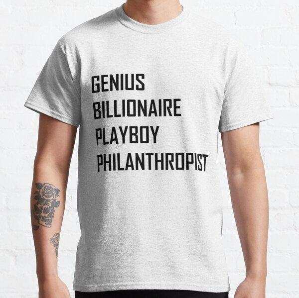Genio, multimillonario, playboy, filántropo Camiseta clásica