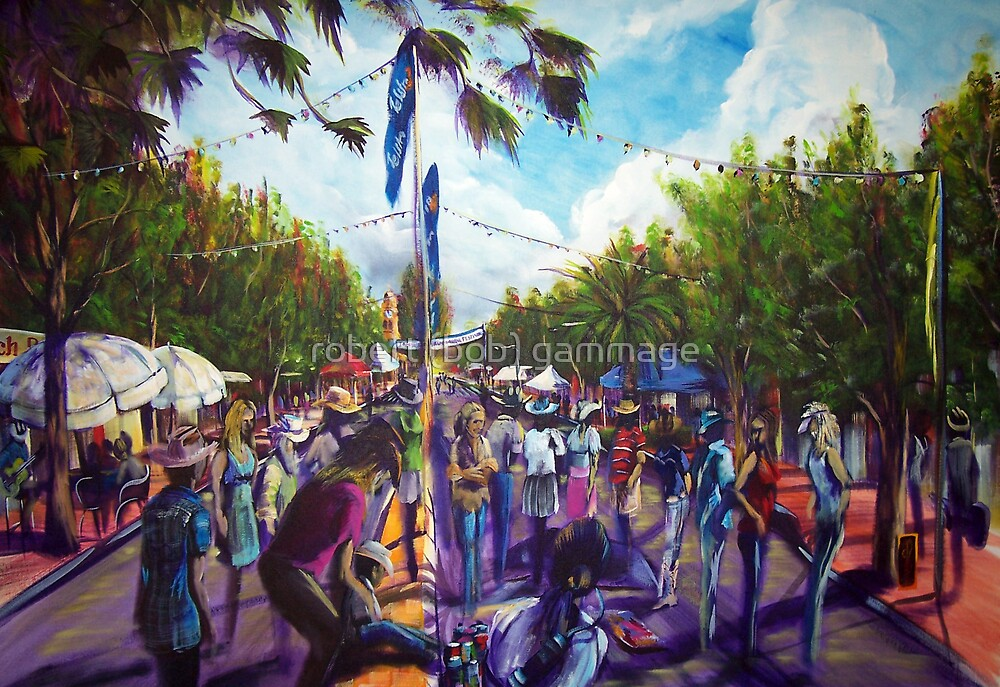 rtists in the street by tola