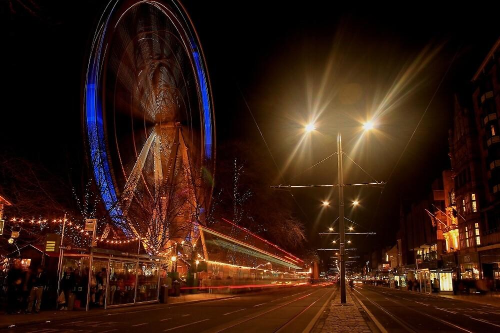 Edinburgh at Christmas by Pat Millar
