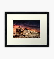 Folley in the Snow Framed Print