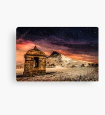 Folley in the Snow Canvas Print