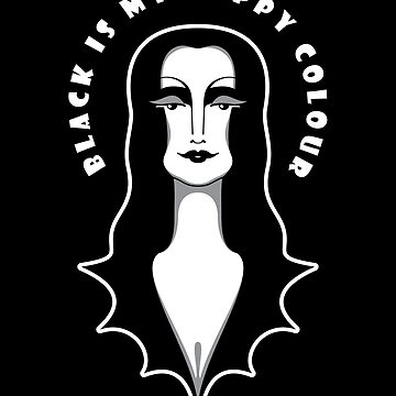 Black Is My Happy Colour  by Ulit