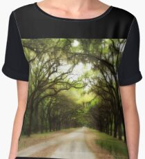 Plantation Road Women's Chiffon Top