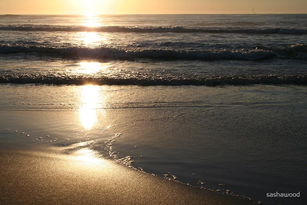 Beach Sunrise by sashawood