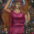 Flora Goddess of Nature and Flowers by DionysianArtist