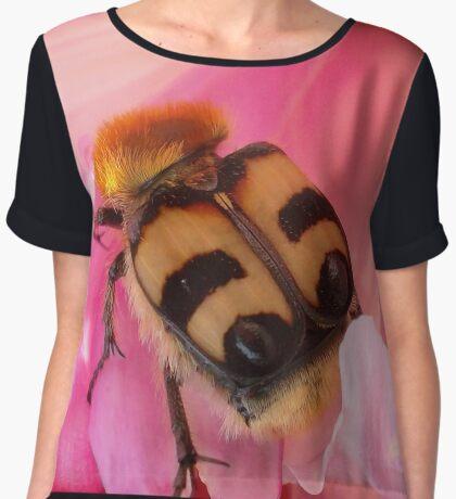 Bee Beetle Women's Chiffon Top
