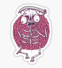 brainyreaper Sticker
