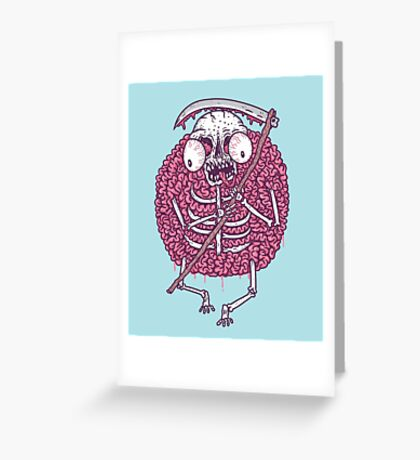 brainyreaper Greeting Card