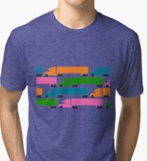 18 Wheelers  Tri-blend T-Shirt
