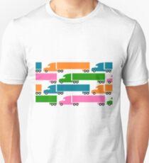18 Wheelers  Unisex T-Shirt