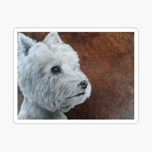 West Highland Terrier Sticker