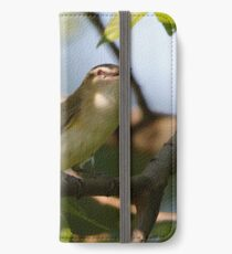 red eyed vireo iPhone Wallet/Case/Skin