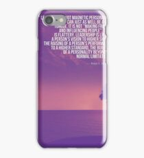 Inspirational Quotes - Motivational , Leadership - 44  Peter F. Drucker iPhone Case/Skin