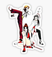 The King of Fighters Girls Sticker