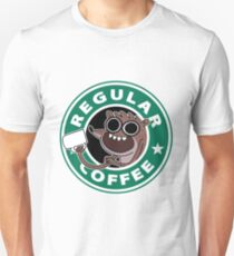 Regular Rigby Coffee T-Shirt