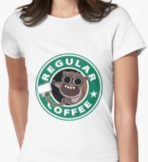 Regular Rigby Coffee Women's Fitted T-Shirt