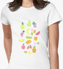 fresh summer fruits and berries Womens Fitted T-Shirt