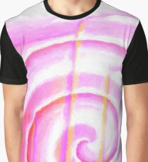 Musical waves Graphic T-Shirt
