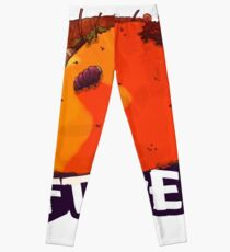 Trash Fish Taco Leggings