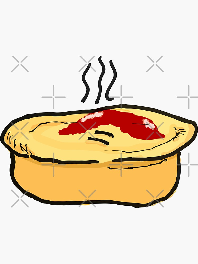 Meat Pie by strayastickers