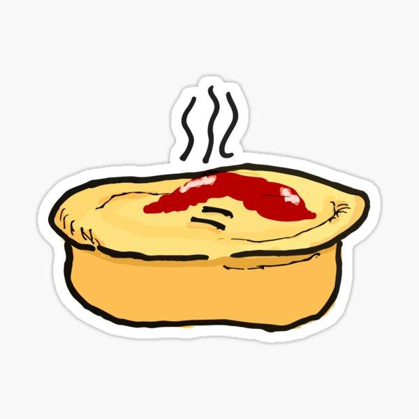 Meat Pie Sticker
